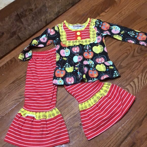 2bccc4ac15cb0 Jelly The Pug Matching Sets | Nwot Fun 2 Piece Outfit For Toddler ...
